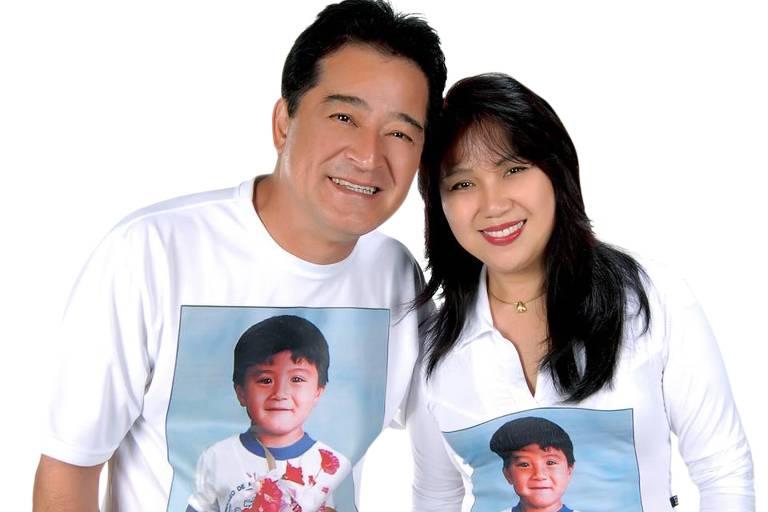 Masataka Ota (1956-2021) e a esposa Keiko Ota