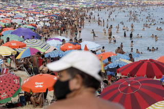Carnival celebrations cancelled due to the coronavirus disease (COVID-19) pandemic in Rio de Janeiro
