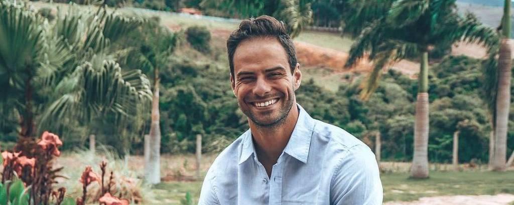 O ator e modelo Lucas Malvacini
