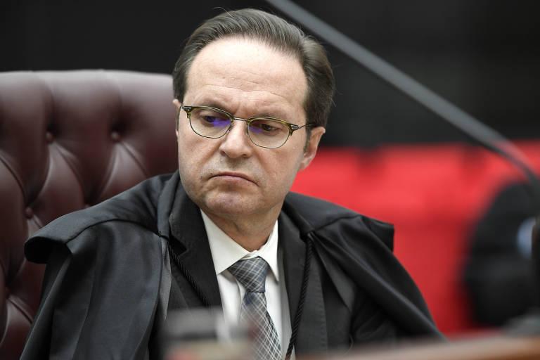 Ministros da Quinta Turma do STJ, que julga o caso de Flávio Bolsonaro