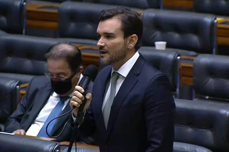 Deputado Celso Sabino (PSDB-PA) durante sessão da Câmara