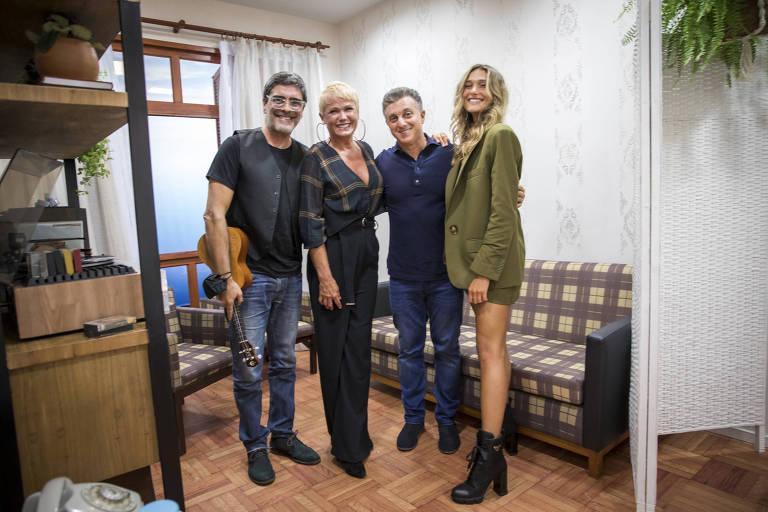 Xuxa se emociona ao relembrar passado humilde durante homenagem feita na Globo
