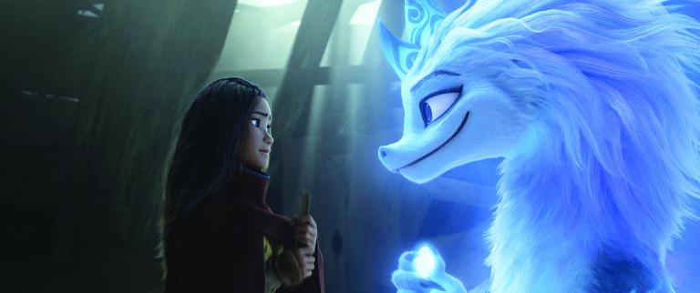 """Cena da animação """"Raya e o Último Dragão"""", da Disney"""