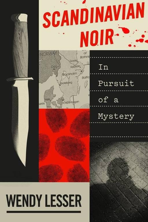 Capa de 'Scandinavian Noir', da autora Wendy Lesser