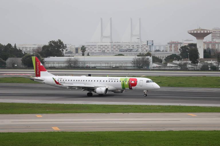 Passageiros de voo especial do Brasil a Portugal terão que cumprir quarentena obrigatória