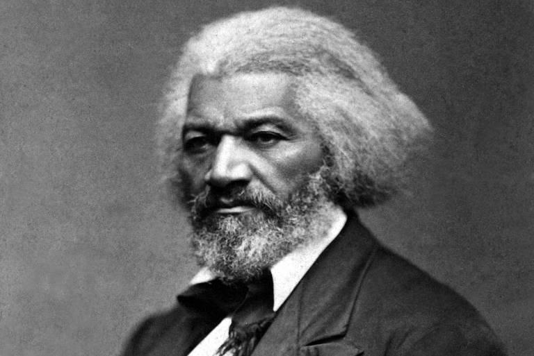O abolicionista Frederick Douglass, que fugiu da escravidão e conseguiu comprar liberdade, tem trajetória relatada no livro 'Autobiografia de Um Escravo' (Ed. Vestígio)
