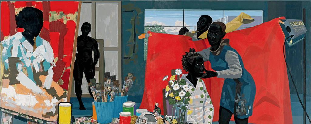 Obra do artista Kerry James Marshall, que está no documentário