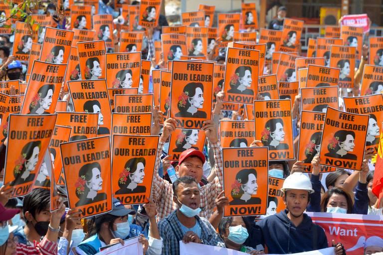 Mianmar tem dia mais sangrento de protestos contra golpe; 18 morrem