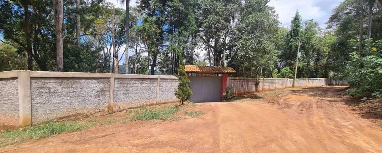 Vista de propriedade rural em Mairinque