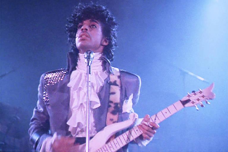 Prince em 'Purple Rain'