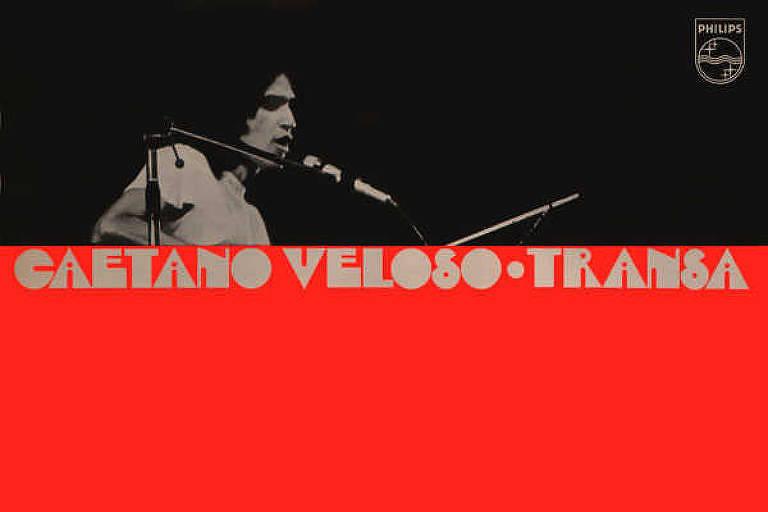 "Capa do disco ""Transa"", de Caetano Veloso"