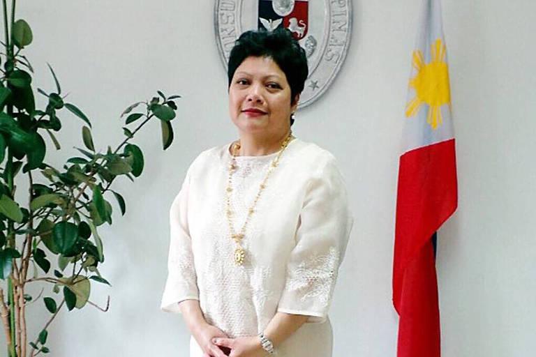 Ex-embaixadora das Filipinas no Brasil, Marichu Mauro