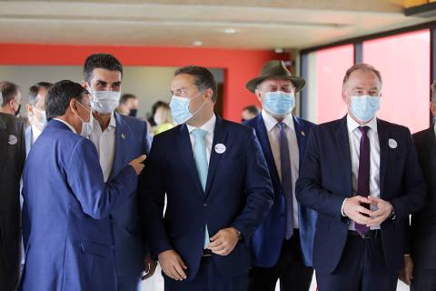 Governadores articulam anunciar medidas restritivas em conjunto contra avanço da Covid-19