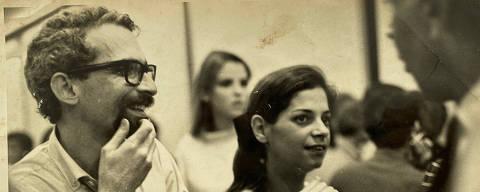 Murilo Felisberto em 23 novembro de 1967 . foto cedida pela filha Carlota Felisberto HUMANOS DA FOLHA Folha, 100, 23.nov.1967. (Foto: Arquivo Pessoal)
