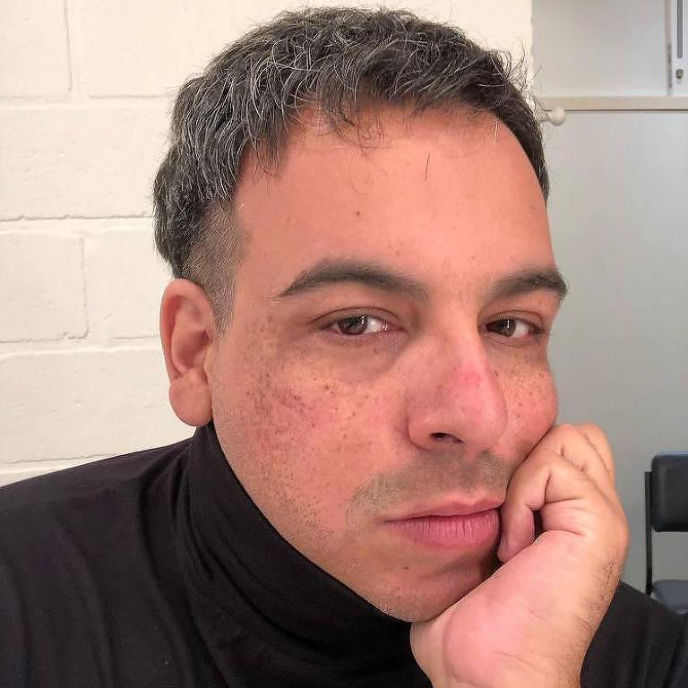 O ator Luis Lobianco em foto postada em sua rede social