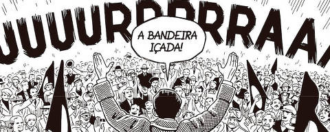 Trecho do quadrinho 'Berlim', do cartunista Jason Lutes, publicado no Brasil pela editora Veneta