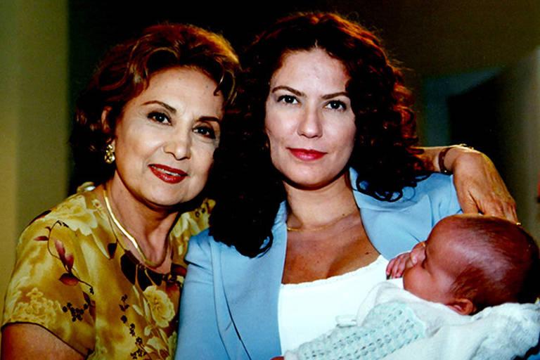 Cenas da serie Mulher com  Eva Wilma e Patrícia Pillar