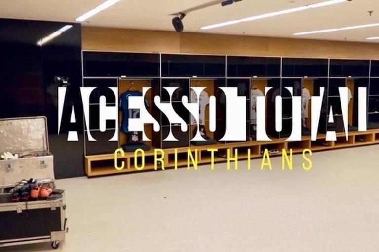 """Imagem de divulgação do documentário em série """"Corinthians - Acesso Total"""", do SporTV"""