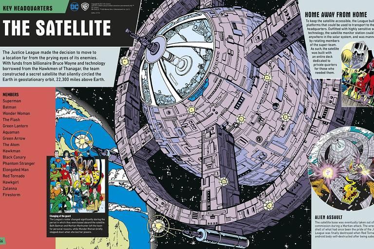 Imagem do livro 'Justice League - The Ultimate Guide', da DC Comics