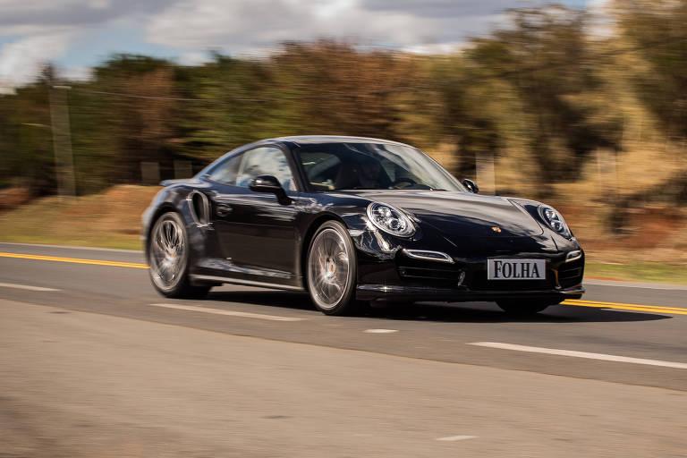 Porsche 911 Turbo foi de 0 a 100 km/h em 3,1s, um recorde no teste Folha-Mauá