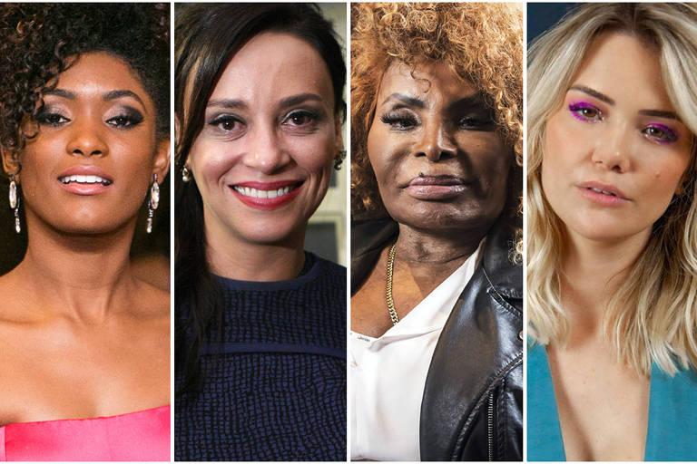 De Érika Januza a Elza Soares, famosas homenageiam mulheres que as inspiram
