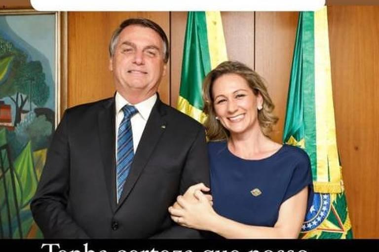 Mulher de Mario Frias ataca governadores e diz que Covid-19 é 'fraudemia'