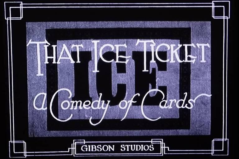 "Abertura de ""That Ice Ticket"", filme de Angela Murray"