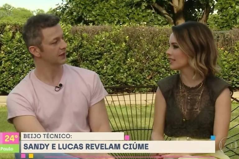 Sandy e Lucas Lima lembram o tempo em que namoravam escondidos