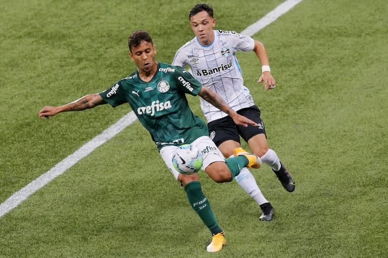 Palmeiras e Grêmio decidiram a última edição da Copa do Brasil, e os palmeirenses ficaram com a taça
