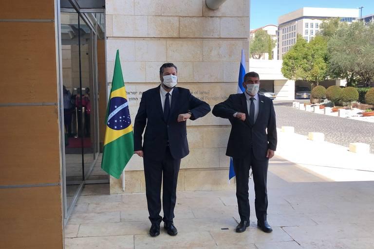 Spray contra Covid é novo episódio da diplomacia da tranqueira entre Brasil e Israel