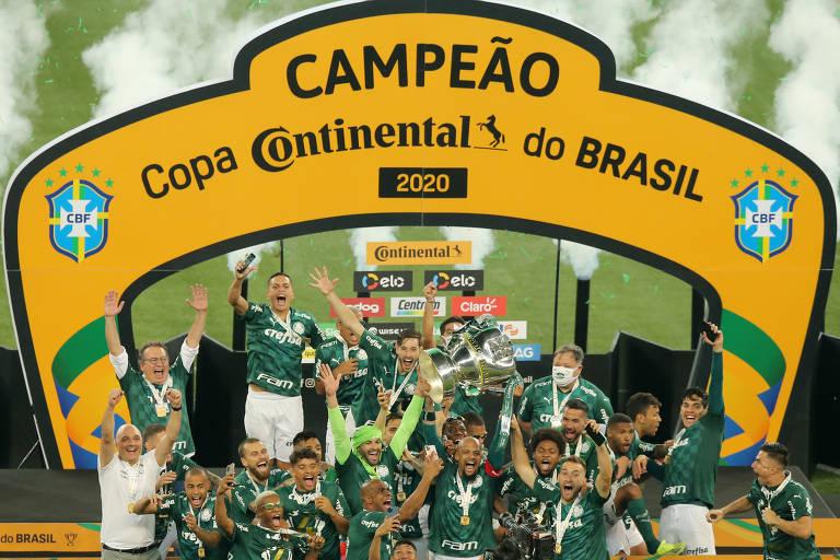 Palmeiras vence Grêmio e conquista tetra da Copa do Brasil