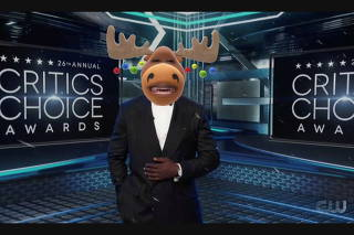 Host Taye Diggs in this screen grab from the 26th Critics' Choice Awards in Santa Monica