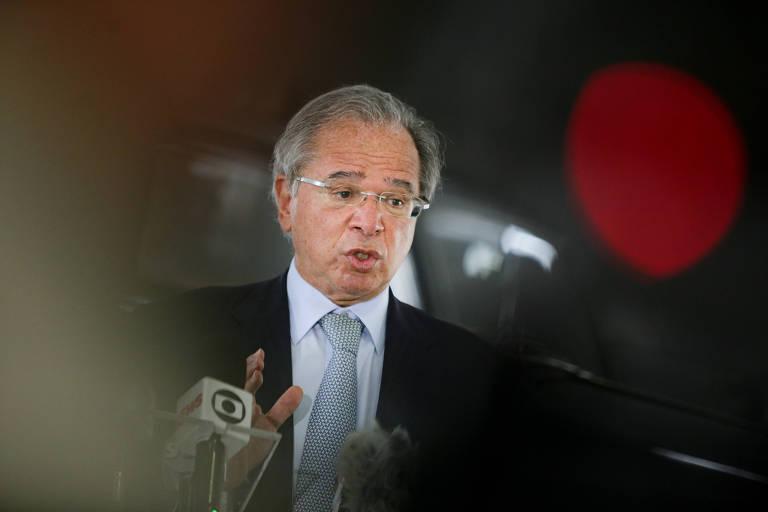 O ministro da Economia, Paulo Guedes; segundo ele, desde o início do governo, foi elaborado um protocolo de crise que previa ampla desindexação de despesas públicas