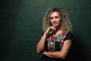 RIO DE JANEIRO, RJ, 03.03.2020: Bruna Benevides, cearense é uma das primeiras mulheres trans na ativa nas Forcas Armadas. Há cerca de dez anos ela foi dispensada da Marinha após revelar que era trans, considerada