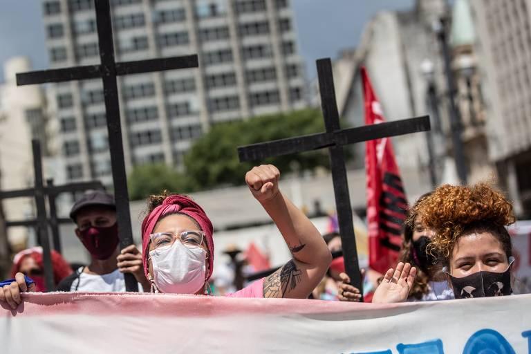 Manifestações do Dia Internacional da Mulher