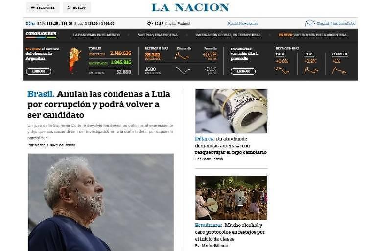 Decisão sobre Lula 'tem potencial para remodelar futuro do Brasil', diz NYT