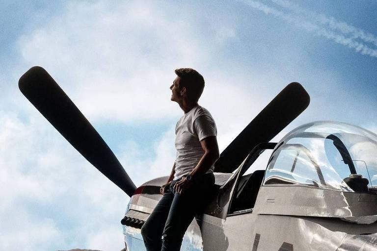 """Cartaz do filme """"Top Gun: Maverick"""""""