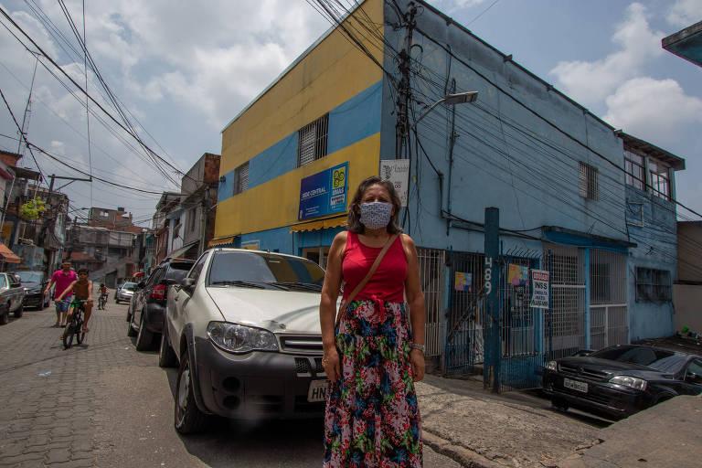Líder de associação em Heliópolis, Cleide relata dificuldades da maior favela de São Paulo