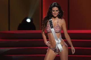 Candidatas  Miss Universo fazem ensaio geral