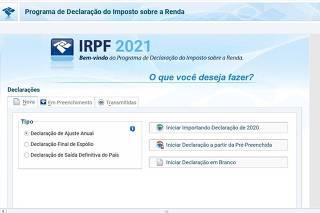 Passo a passo do Imposto de Renda IRPF2021