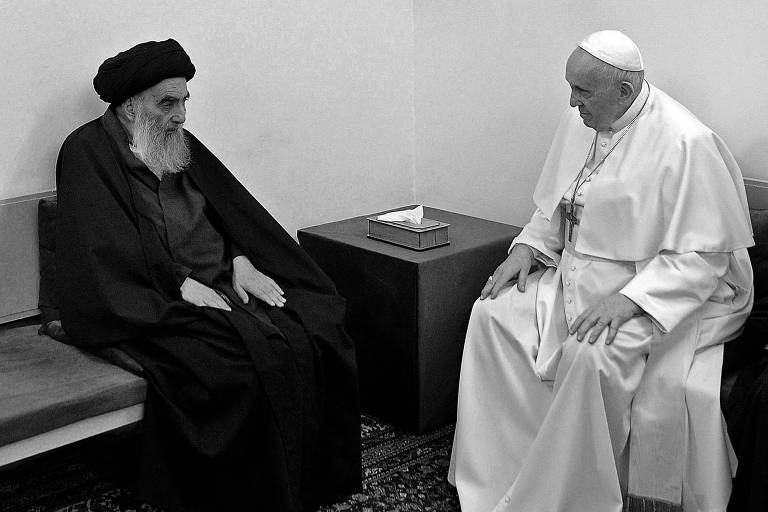 O papa no Iraque