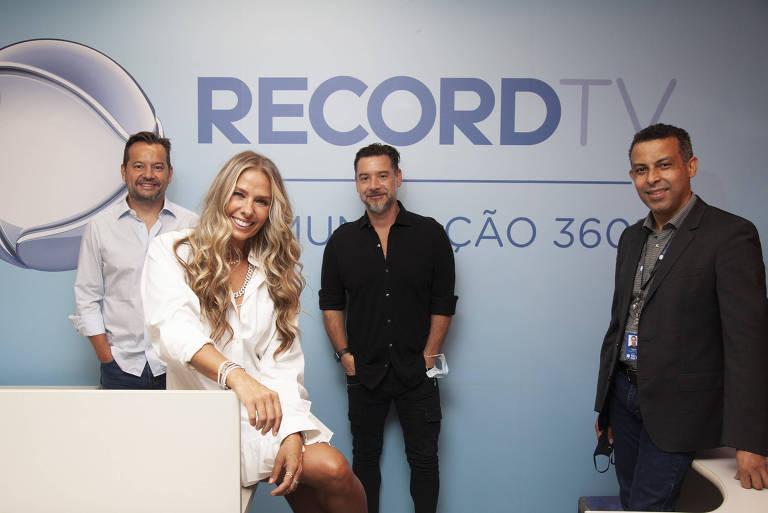 Adriane Galisteu volta à emissora Record TV após 18 anos