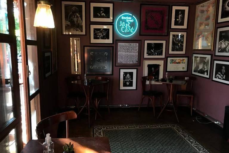 O BS Jazz Cafe, no Bourbon Street, em São Paulo