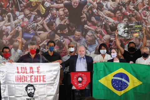 Lula quer se normalizar de novo e tenta diminuir o trânsito na terceira via
