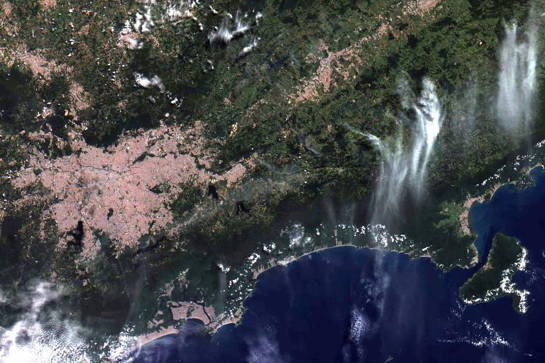 Satélite brasileiro Amazônia-1 revela suas primeiras imagens