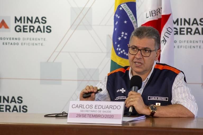Carlos Eduardo Amaral, secretário de saúde de Minas