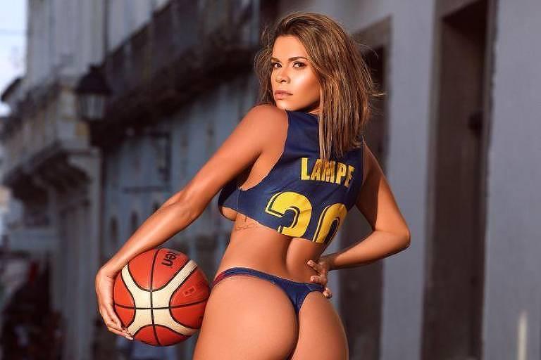Ex-mulher do astro da NBA, brasileira causa polêmica por fotos na Playboy África