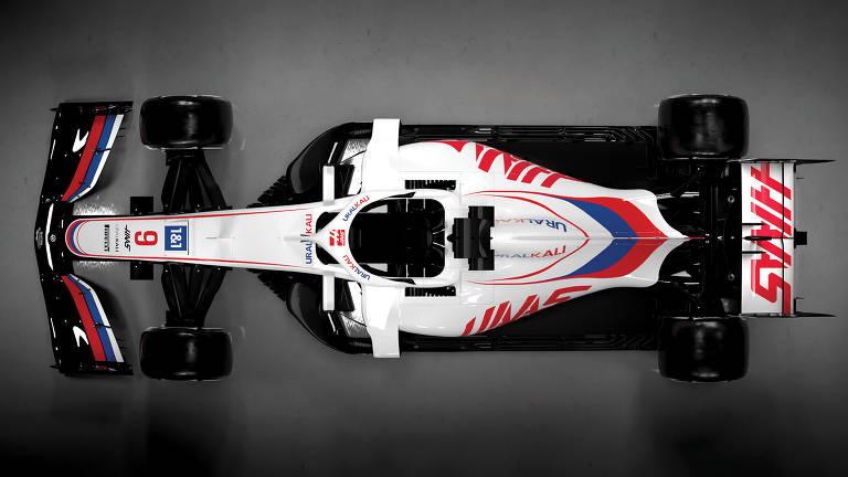 Carros da temporada 2021 da F1
