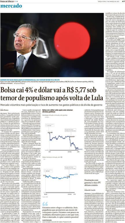 Mercado fala de 'risco-Lula' há mais de 30 anos