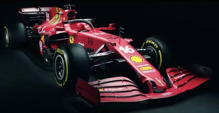 Carros e pilotos da temporada 2021 da F1